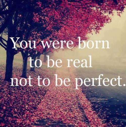Te-ai nascut sa fii real